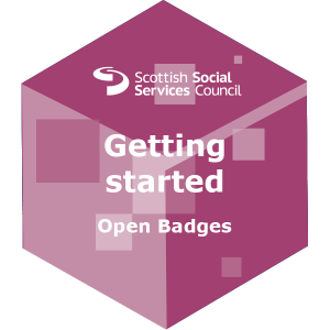 Find out how to get started using open badges