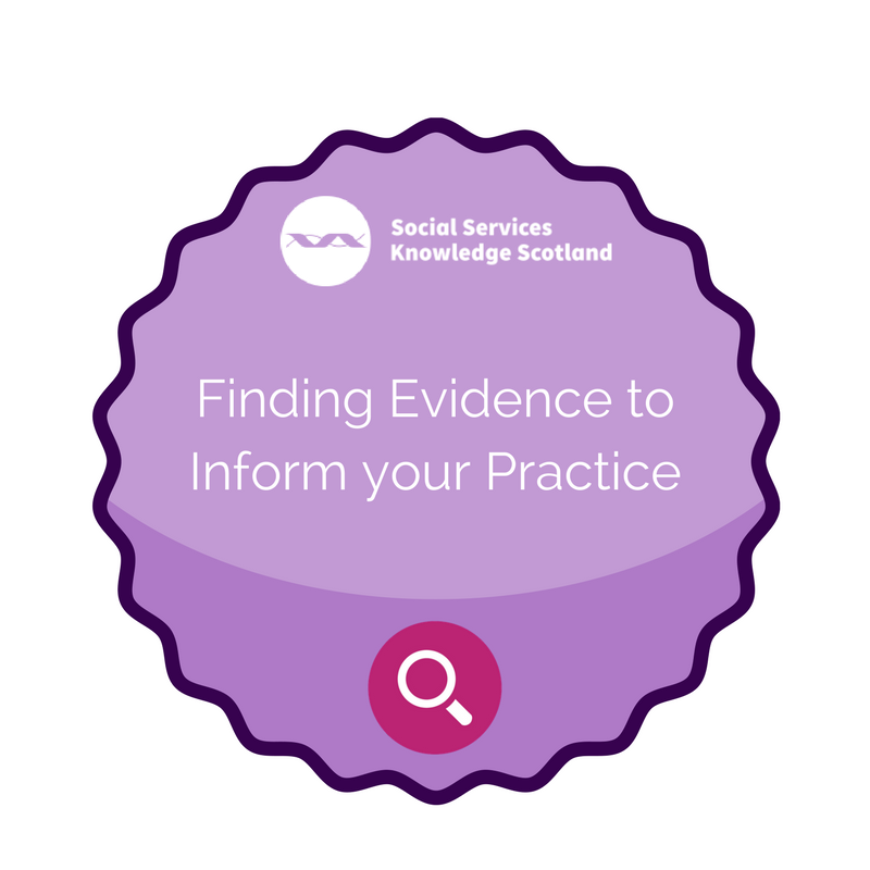 Finding Evidence badge
