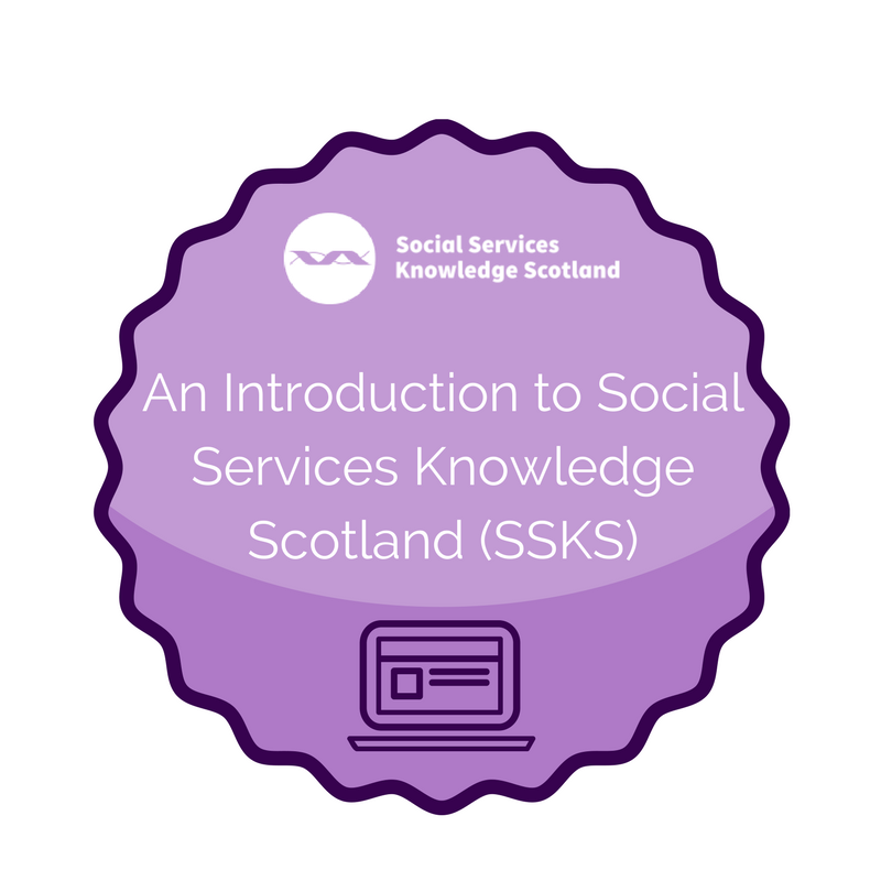 Intro to SSKS badge