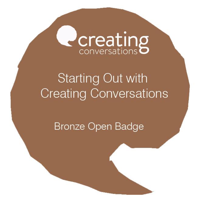 BronzeStartingOutCreatingConvosBadge
