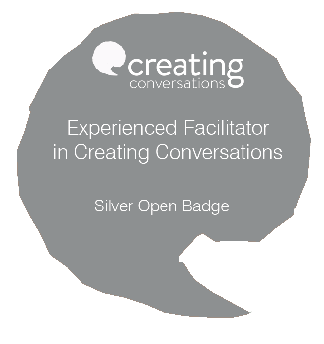 Creative Conversations Silver Award for Experienced Facilitators